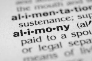 definition of alimony in the dictionary