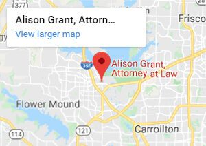 Alison Grant, Attorney at Law, 142 W Main St, Lewisville, TX 75057