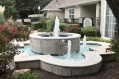 Frisco Fountain Before