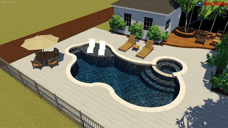 3d Backyard Designs Outdoor Living Liquidus Pool Services