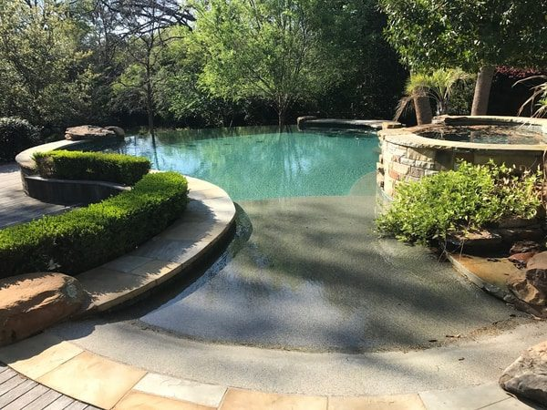 Beautiful custom pool