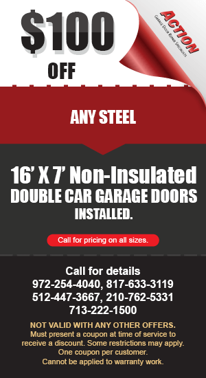 100 off non Insulated Doors