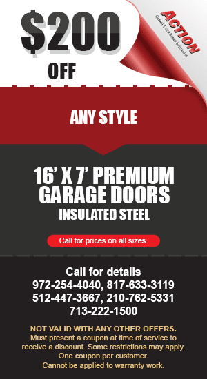 200 off 16 by 7 Premium Doors