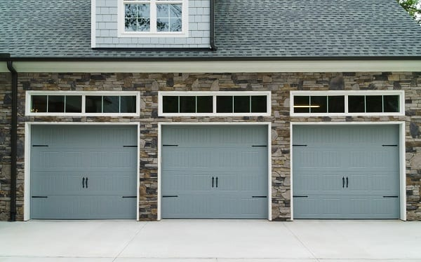 Residential house car garage doors