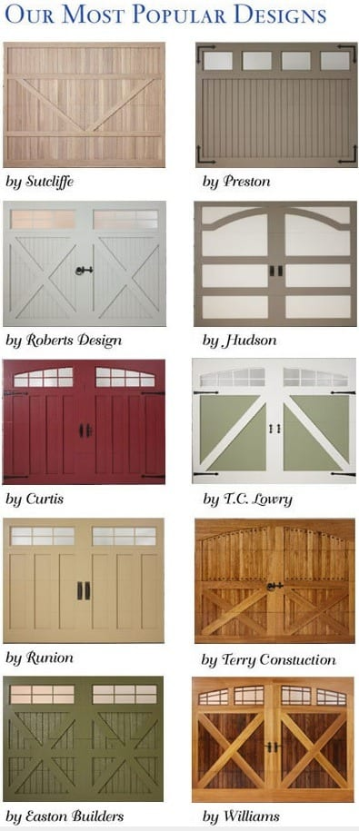 Carriage Garage Doors Amarr