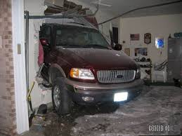 Garage Truck Accident
