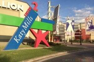 Katy Mills Mall in Katy TX Entrance 2