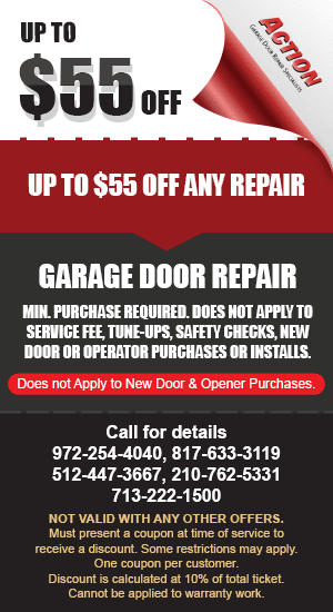 55 off Garage Door Repair