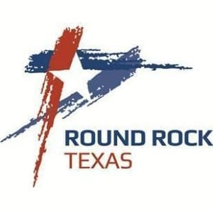 logo for the city of round rock tx