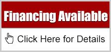 graphic with text saying financing available click here for details and an icon of a pointer mouse cursor