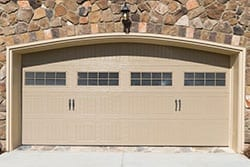 Residential house garage door install, service, repair, and maintenance by Action Garage Doors in Burleson Texas area of the Dallas Fort Worth metropolitan center