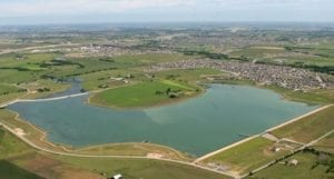 Lake Pflugerville in Texas