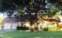 This beautiful residential home in Lake Worth Texas needed to replace their garage doors due to age so Action Garage Doors installed and repaired them