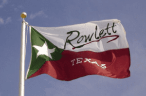 city of rowlett tx flag