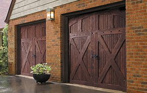 Refinish A Wood Garage Door