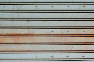 Garage Door Rust