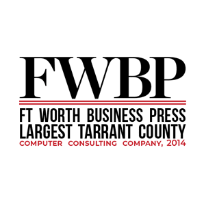 Logo for Fort Worth Business Press Largest Tarrent County Computer Consulting Company