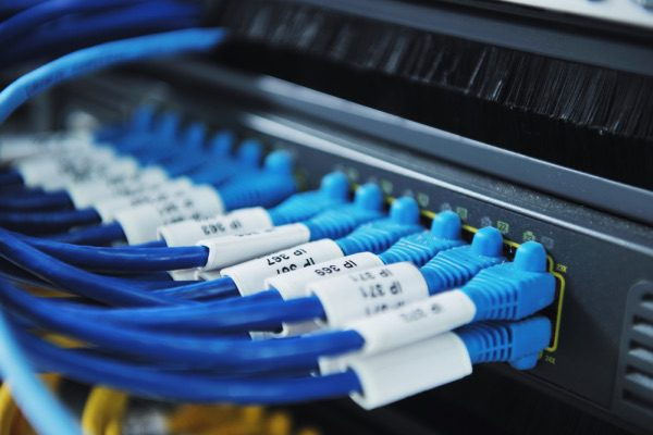 An image of a network server.