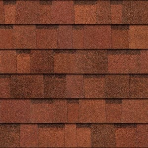 Owens Corning TruDefinition Duration Shingle in Terra Cotta