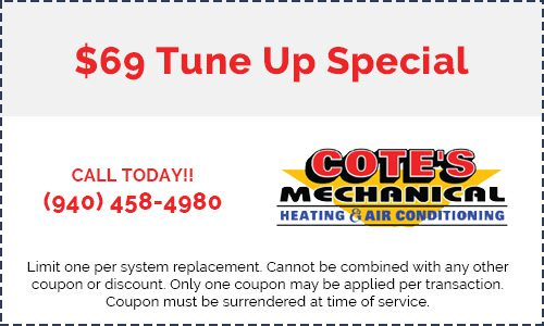 Coupon for a $69 tune up special