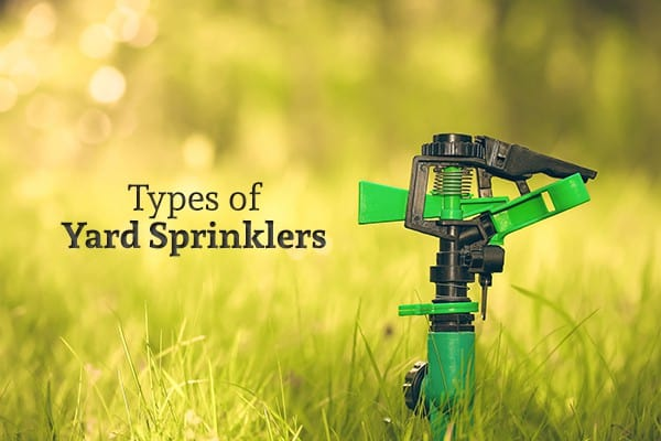 A green sprinkler that
