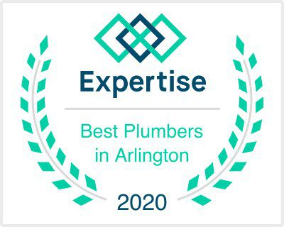 best plumbers in arlington 2020 award expertise logo