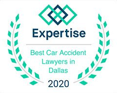 Expertise Best Car Accident Lawyers in Dallas 2020 Badge