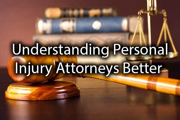 "A set of legal books and a gavel with the words, ""understanding personal injury attorneys better."""