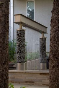 Rain water feature