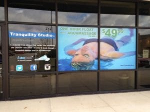 Window graphics for Tranquility Studio