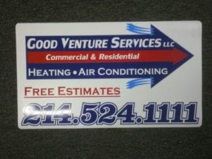 Car magnet for Good Venture Services LLC