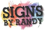 Signs By Randy logo