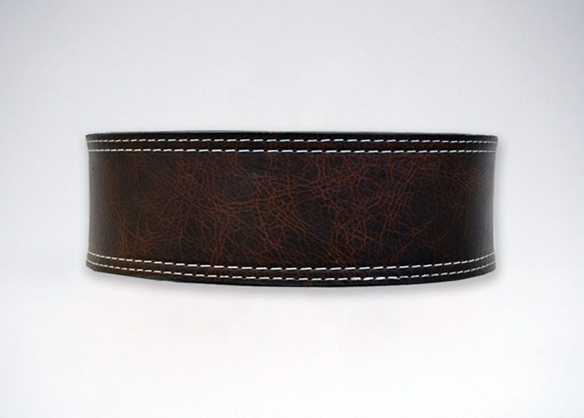 back of brahma oiled buffalo lever belt