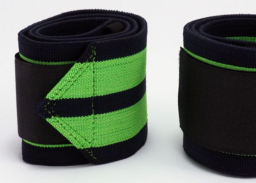 close up of kla 2500 wrist wrap