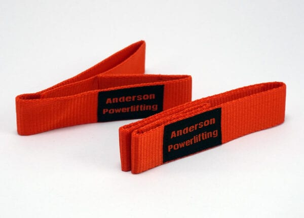 orange nylon kla lifting straps