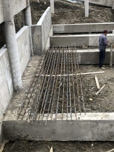 Construction of commercial concrete pool