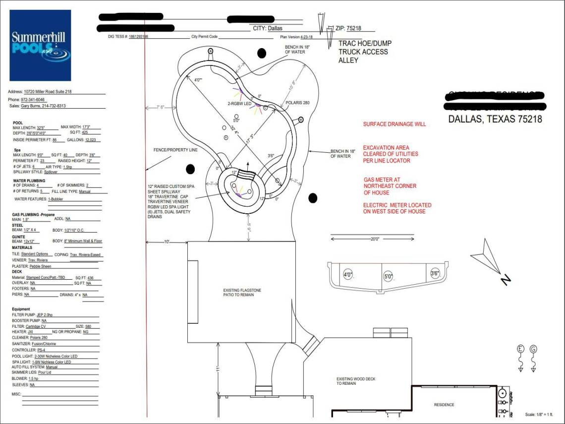 Pool Design Plans Choung Job
