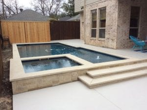 newly finished pool