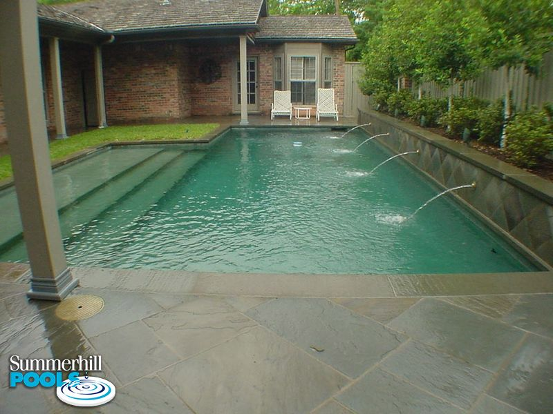 after image of a small pool in a backyard