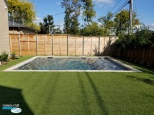 simple rectangle pool